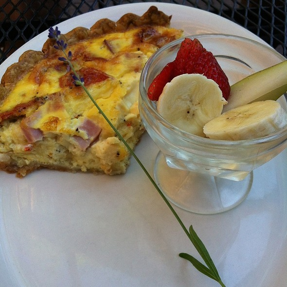 Quiche Of The Day @ One Street Down Cafe