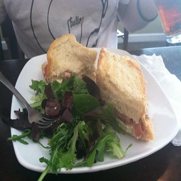 Baked Prisciutto & Mozzarella @ Paninoteca Mediterranean Cafe