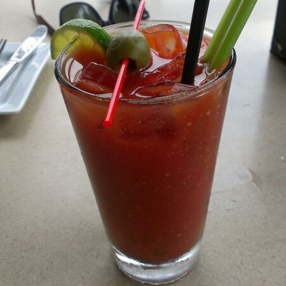 Virgin Bloody Mary @ McLoone's Pier House