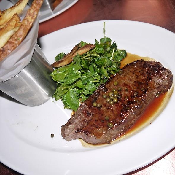 Steak au Poivre Vert - Bobo Restaurant, New York, NY