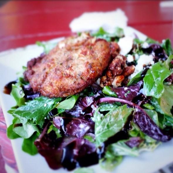 Maryland Crabcake Salad - Klein's Fish Market, Waterside Cafe, Grill Room and Sushi Bar, Belmar, NJ