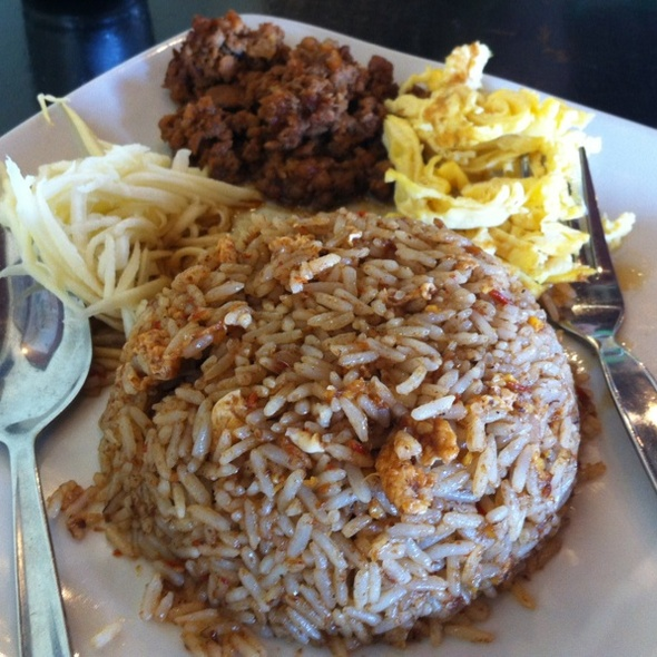Thai Fried Rice @ Restoran A Wet Thai Cafe