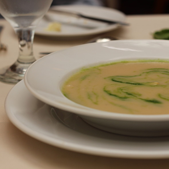 Asparagus Soup - The Garden Court, San Francisco, CA