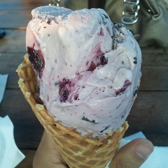 Bing Cherry Chocolate Chunk @ Mitchell's Ice Cream Westlake