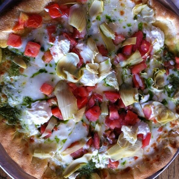 "Vegetable Flatbread ""Pizza"" @ Marin Brewing Company"