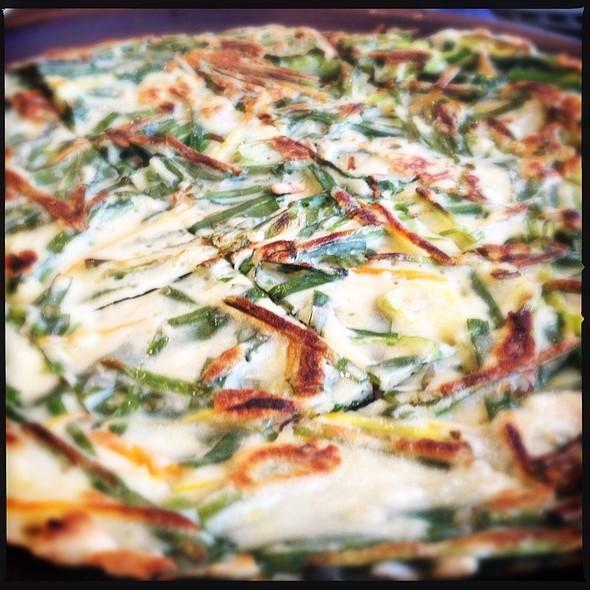 Buchu Jeon-Pancake @ Kaya Korean Restaurant