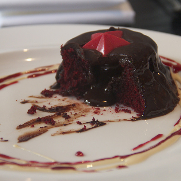 Red Velvet Chocolate Lava Cake @ RSVP