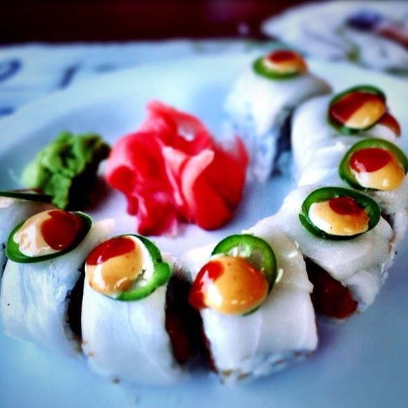 Fire Mountain Roll - Klein's Fish Market, Waterside Cafe, Grill Room and Sushi Bar, Belmar, NJ