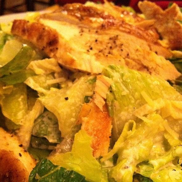 Chicken ceasar salad - Harbor Restaurant, Santa Barbara, CA