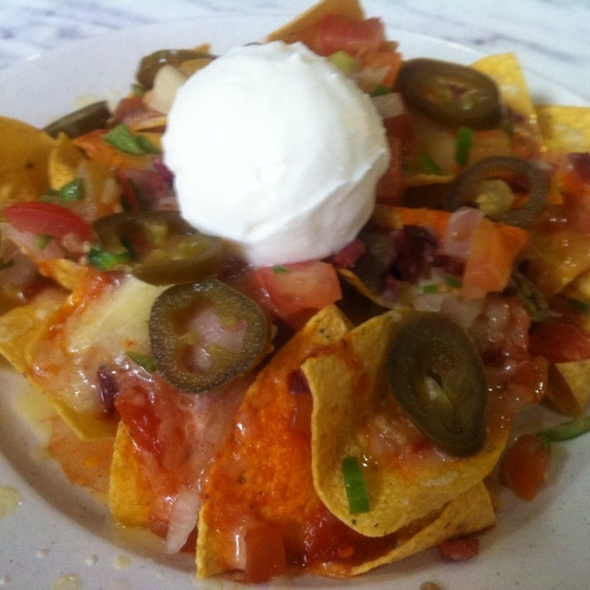 Chilli Beef Nachos @ Craven Cafe