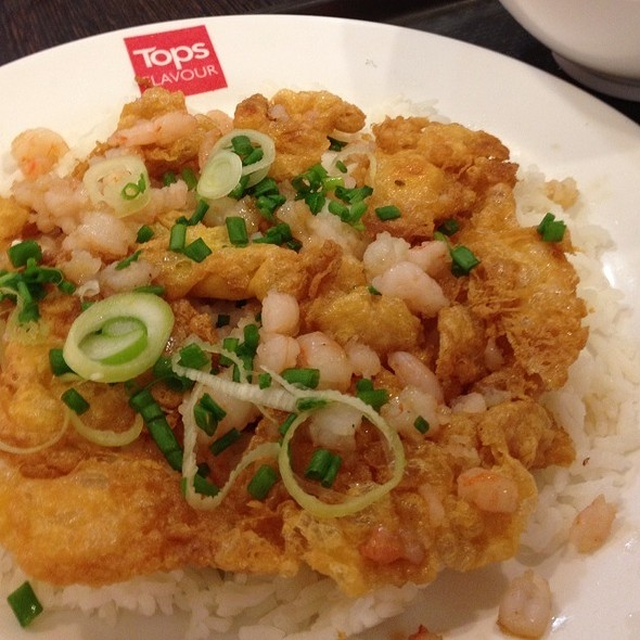 Shrimp Omelette with Rice