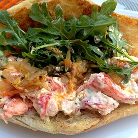lobster roll - Triniti, Houston, TX
