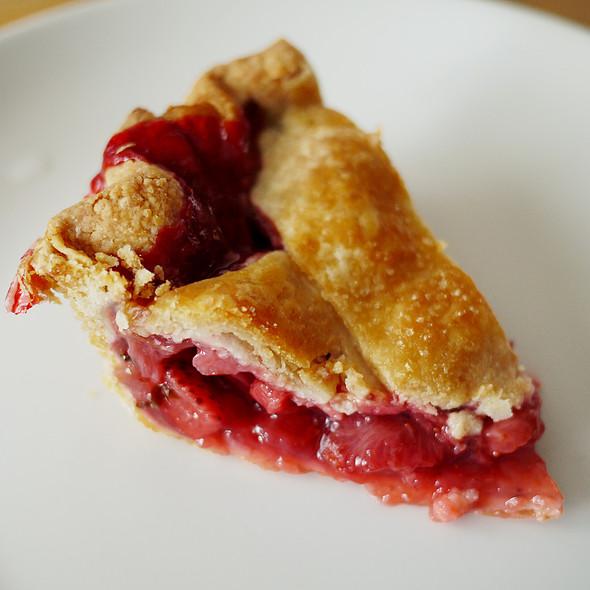 Strawberry Basil Pie @ First Prize Pies @ Super Duper Market