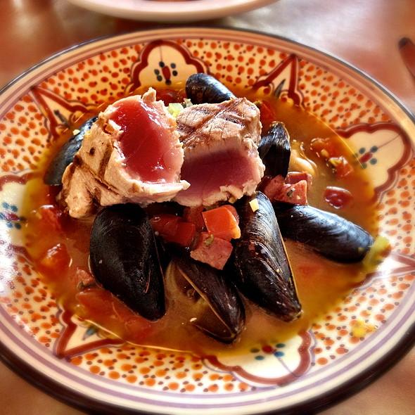 Seafood Boullibase - Cafe Malta, Austin, TX