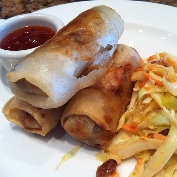 Crispy Crab Spring Rolls - American Grille - Marriott Vancouver Airport, Richmond, BC