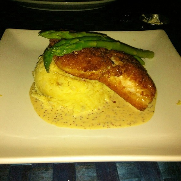 Pretzel Crusted Grouper - Mancy's Bluewater Grille, Maumee, OH