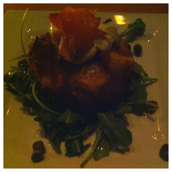 Smoked Salmon And Potato Fish Cake - Wine Bar - Toronto, Toronto, ON