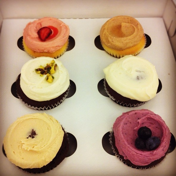 Assorted cupcakes @ Butter Lane