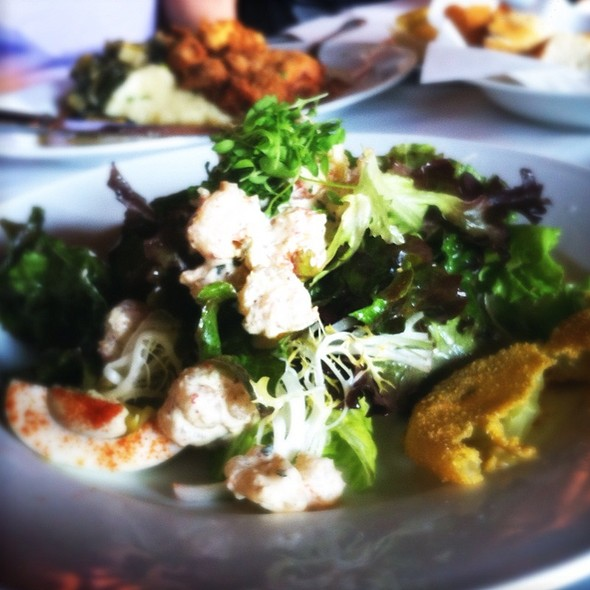Louisiana Shrimp Remoulade Salad - Creola, San Carlos, CA
