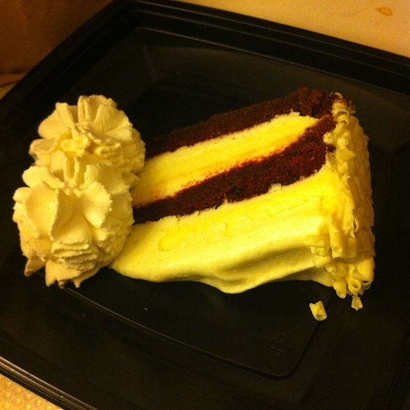 Red Velvet Cheesecake @ Cheesecake Factory The