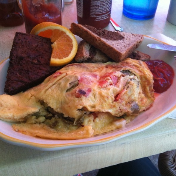 Omelette @ Honey's Sit N Eat