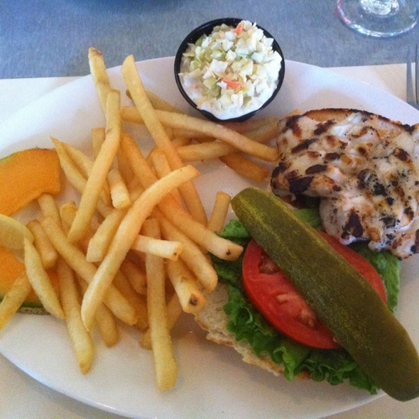 Native Grouper Sandwhich @ Randy's Fishmarket Restaurant