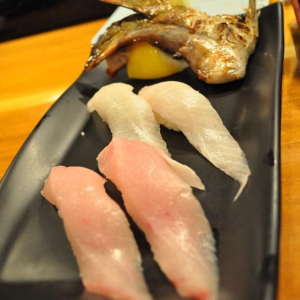 はまち、かんぱち、はまちかま @ Jo's Sushi Bar