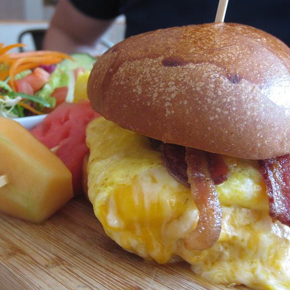 Breakfast Sandwich @ Rotisserie Laurier