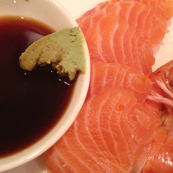 Salmon Sashimi @ Satoo