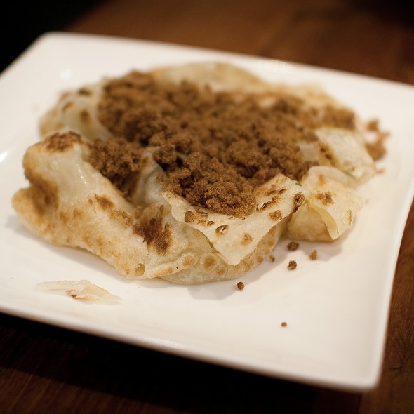 Fluffy Chinese Roti With Pork Floss @ Chefs Gallery