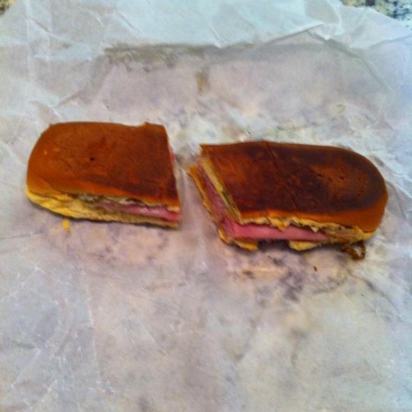 Medianoche Sandwich @ Carlito's Cafe