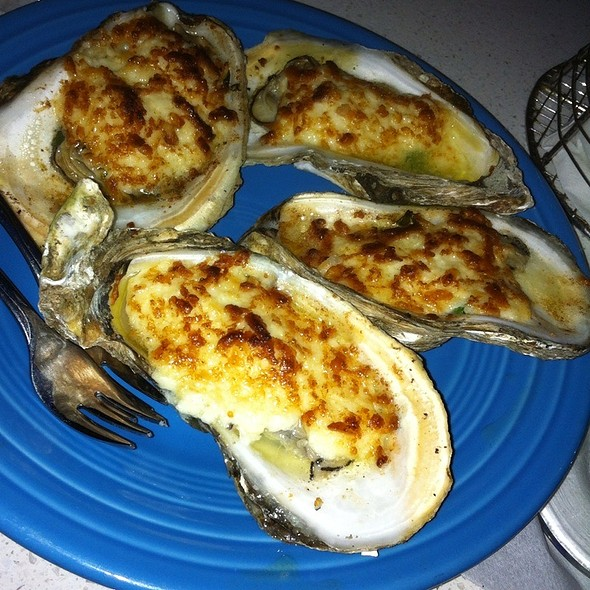 Fresh Chargrilled Oysters - Aguaviva, Old San Juan, PR