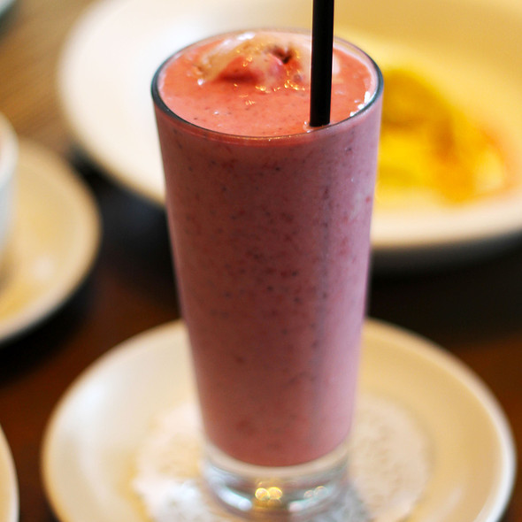 Strawberry Milkshake @ Print. Restaurant