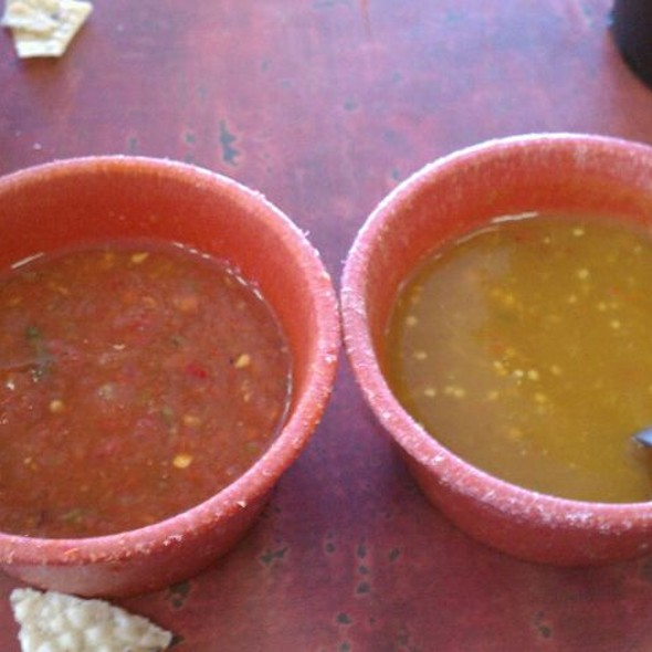 Dos Salsas @ Taqueria Guadalajara