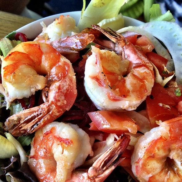 shrimp salad - Brockton Villa, San Diego, CA