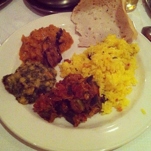 Keralan Curry Selection @ Rasa South Indian Vegetarian Restaurant