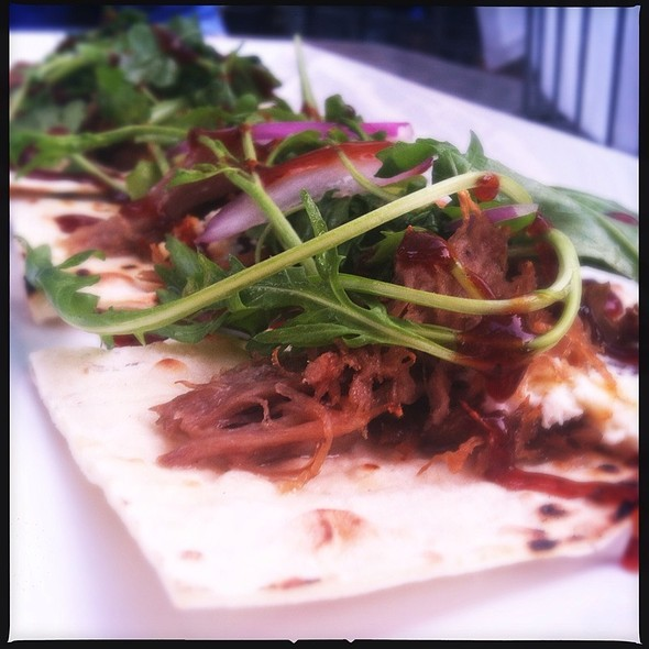 Duck Confit Flatbread - The Gables at Chadds Ford, Chadds Ford, PA