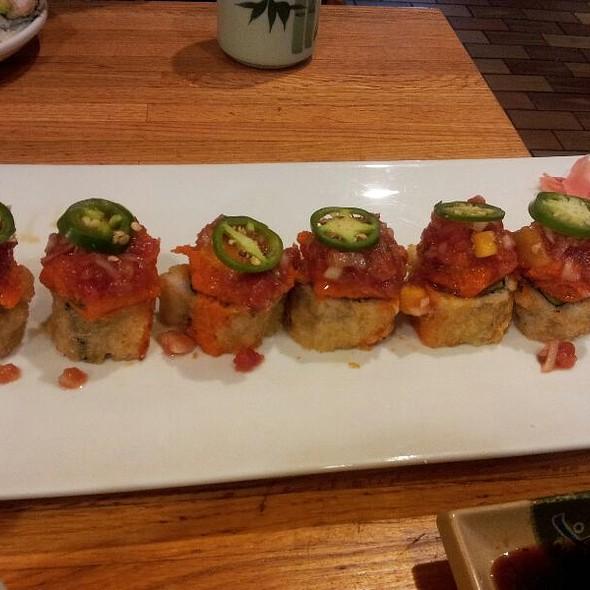 Sassy Salmon Roll @ Yuraku Japanese Restaurant