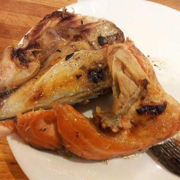Smoked Salmon Head @ Yuraku Japanese Restaurant