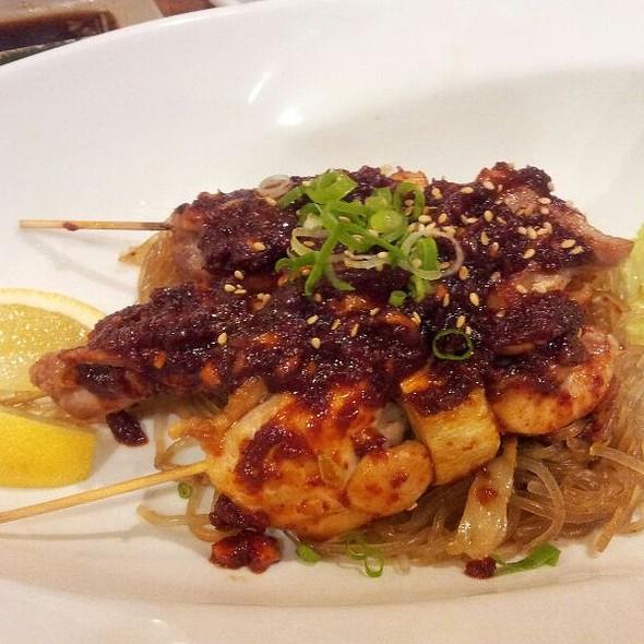 Spicy Chicken Kushi @ Yuraku Japanese Restaurant