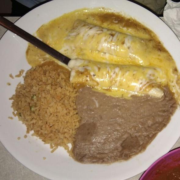 Two Enchiladas @ Tex-Mex Taqueria