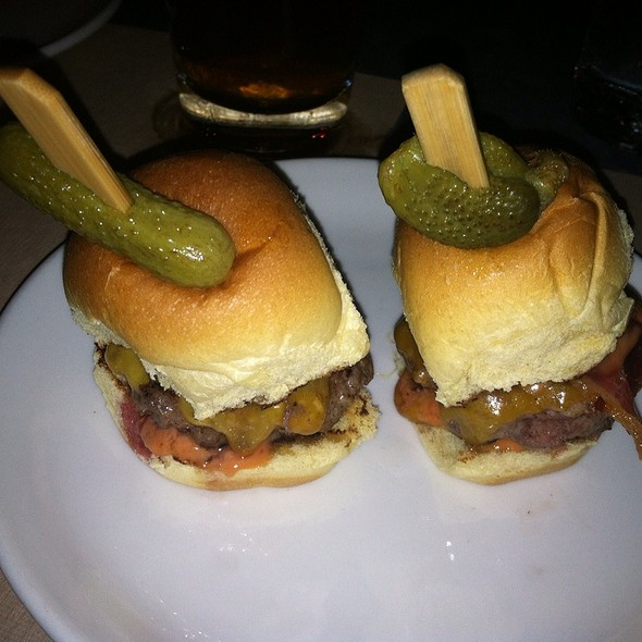 Sliders - Burger and Barrel, New York, NY