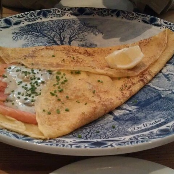 Smoked Salmon Pancake @ My Old Dutch Pancake House