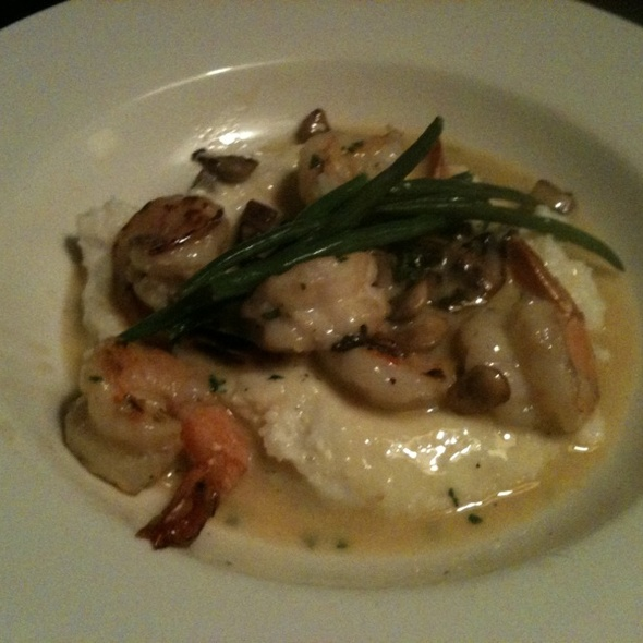 Shrimp and Grits - Blu Seafood and Bar, Durham, NC