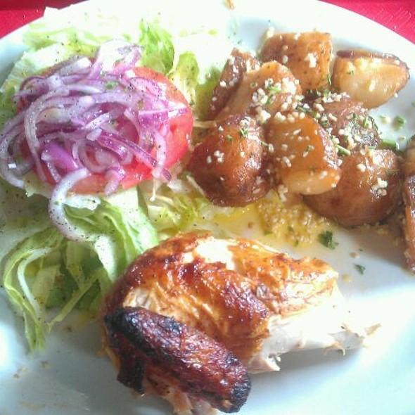 1/4 Chicken Platter @ La Granja
