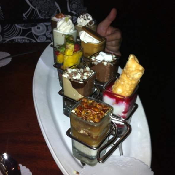 Shot Glass Desserts @ Seasons 52