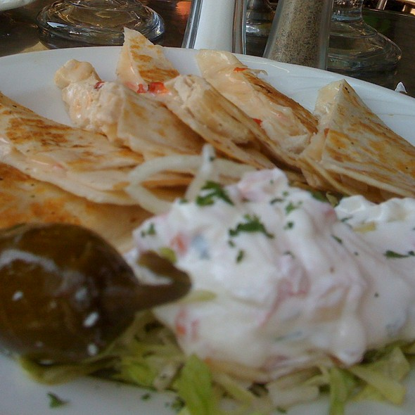 Chicken, Cheese & Pimento Quesadillas @ Ibiza Patio Restaurant & Bar
