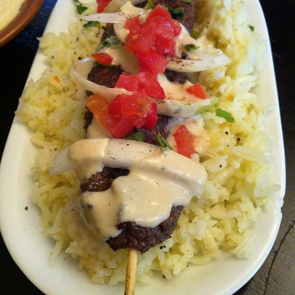 Kafta With Rice @ Hoda's Middle-Eastern Cuisine