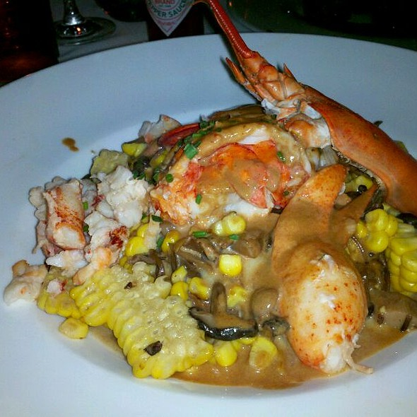 Butter poached lobster @ The Lobster