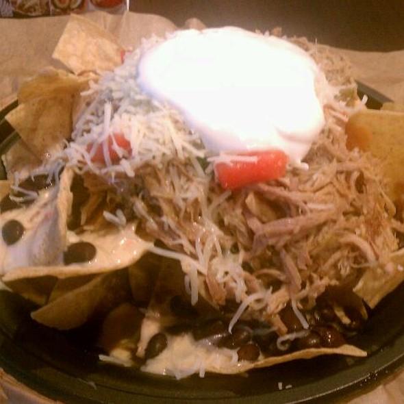 Pulled Pork Nachos @ Qdoba Mexican Grill
